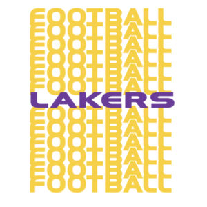 Lakers Football Repeat  Design