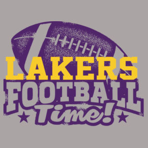 Lakers Football Time Design