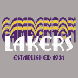 Camdenton Lakers Retro Design