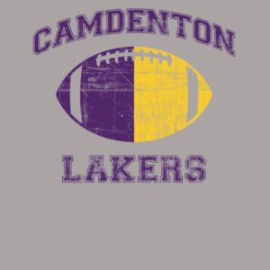 Laker Color Football Design