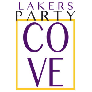 Lakers Party Cove in a Box Design