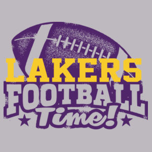 YOUTH Lakers Football Time Design