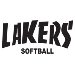 Lakers Softball Design