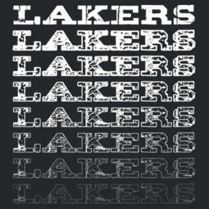 Lakers Repeat Faded Design