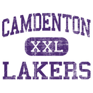 Camdenton XXL Lakers Distressed Design
