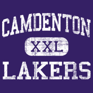YOUTH Camdenton XXL Lakers Design