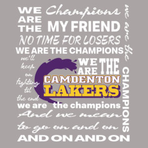 We Are the Champions - Lakers Design