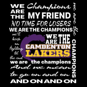 We Are The Champions Design