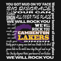 We Will Rock You - Lakers Design