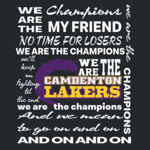 YOUTH We Are The Champions - Lakers Design