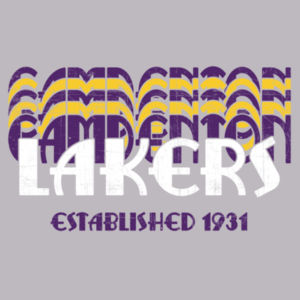 YOUTH  Camdenton Lakers Retro Design