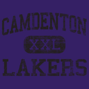Camdenton XXL Lakers Design