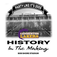 History In The Making - Lakers Party Like It's 2005 Design