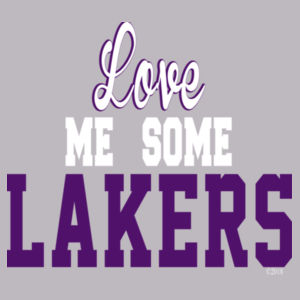 Love Me Some Lakers - Text Design