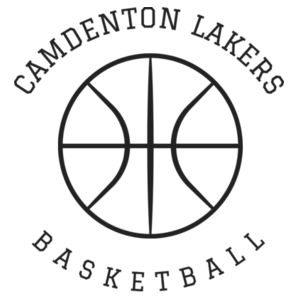 Camdenton Lakers Basketball - LAKER Unisex 3/4-Sleeve Baseball T-Shirt Design