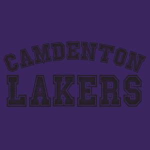 Camdenton Lakers - ™ Infant Short Sleeve Baby Rib Bodysuit Design