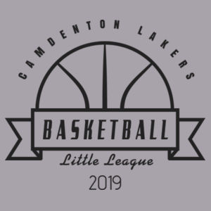 Camdenton Lakers Basketball - Toddler Triblend Short-Sleeve T-Shirt Design