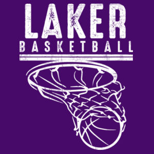 Camdenton Lakers Basketball - Hammer Short Sleeve T-Shirt Design