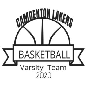 Camdenton Lakers Basketball Design