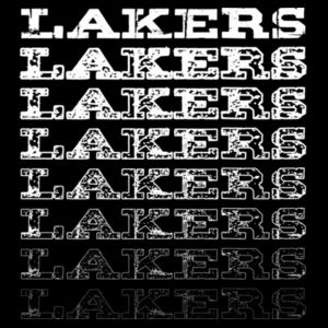 Lakers Faded Design