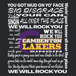 We Will Rock You - Camdenton Lakers Design