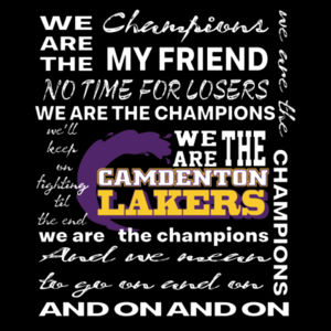 We Are The Champions - Camdenton Lakers Design