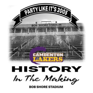 YOUTH History In The Making - Lakers Championship Design