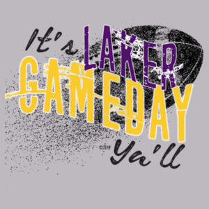 YOUTH It's Gameday Ya'll - Lakers Design