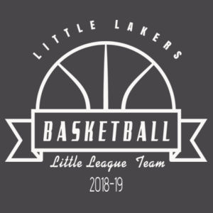 Little Lakers Basketball - Infant Jersey Short-Sleeve One-Piece Design