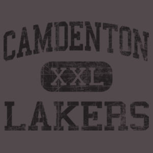 Camdenton XXL Lakers - Youth Flowy Racerback Tank Design