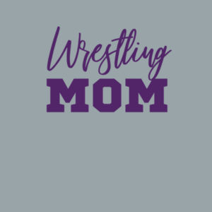 Wrestling Mom - Women's Triblend Long Sleeve Hooded Pullover Design