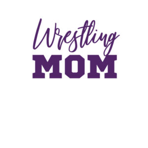 Wrestling Mom - Women's Ideal Racerback Tank Design