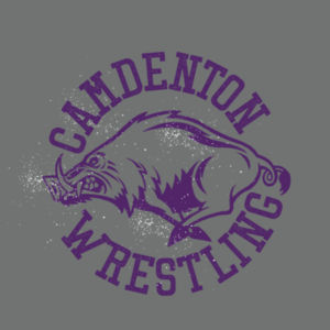 Camdenton Wrestling - LAKERS Adult Heavy Blend™ 8 oz., 50/50 Hood Design
