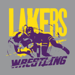 Camdenton Wrestling - Heavy Cotton Youth Long Sleeve T-Shirt Design