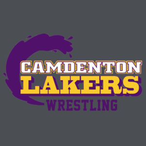 Camdenton Laker Wrestling - ® Smooth Fleece Base Layer Full Zip Design