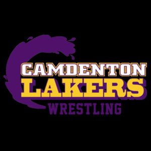 Camdenton Laker Wrestling - 1/2 Zip Microfleece Jacket Design