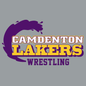 Camdenton Laker Wrestling - ® Collective Smooth Fleece Jacket Design