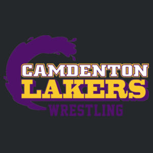 Camdenton Laker Wrestling - Glam Polo Design