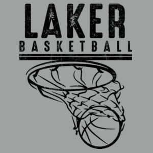 Camdenton Lakers Basketball - Lightweight Fashion Short Sleeve T-Shirt Design