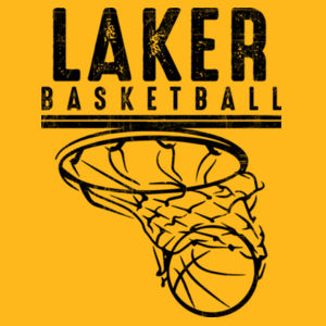 Camdenton Lakers Basketball - Ultra Cotton Youth T-Shirt Design