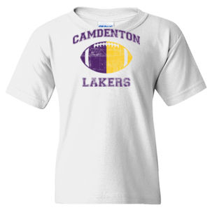 YOUTH  Camdenton Lakers Dual Tone Football Thumbnail