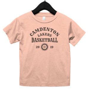 Camdenton Lakers Basketball - Toddler Triblend Short-Sleeve T-Shirt Thumbnail