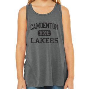 Camdenton XXL Lakers - Youth Flowy Racerback Tank Thumbnail