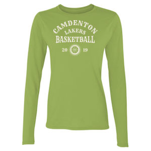 Camdenton Lakers Basketball - Ladies' Softstyle®  4.5 oz. Long-Sleeve T-Shirt Thumbnail