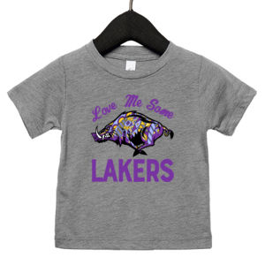 Love Me Some Lakers - Infant Triblend Short Sleeve T-Shirt Thumbnail
