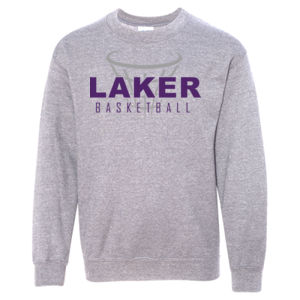 Camdenton Lakers Basketball - Heavy Blend Youth Crewneck Sweatshirt Thumbnail