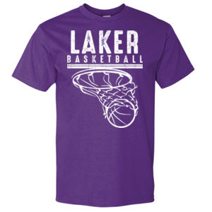 Camdenton Lakers Basketball - Hammer Short Sleeve T-Shirt Thumbnail
