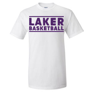 Camdenton Lakers Basketball - Ultra Cotton T-Shirt Thumbnail
